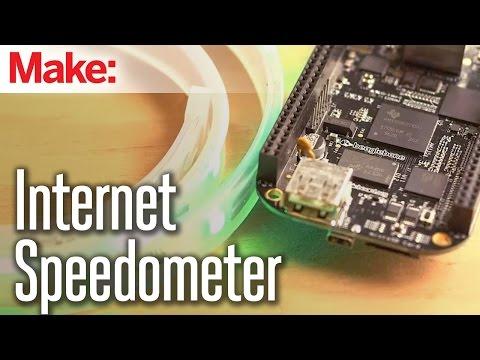 Weekend Projects - Internet Speedometer