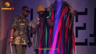 KENNY BLAQ, OWENGEE AND LAFUP CRACK UP AUDIENCE DURING PERFORMANCE AT
