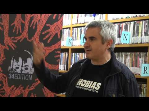 MolinsTV - 12 11 2015  Llibre sobre Cinema de Terror Espanyol