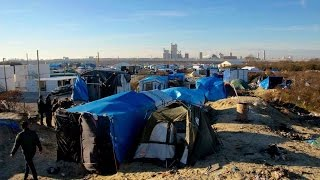 Ed Lawrence - Refugee Crisis - Reports from Calais for BBC and ITN.
