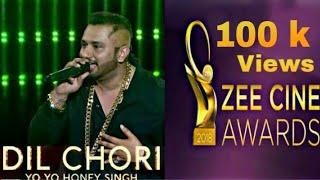 Yoyo Honey Singh Dil Chori Song Zee Cine Awards 2018 Performed