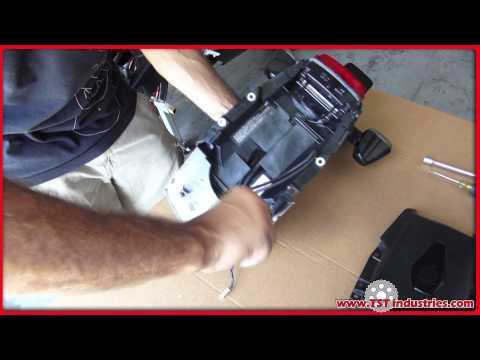 08-09 Honda CBR 1000RR TST Industries Undertail DIY Installation 2008 2009