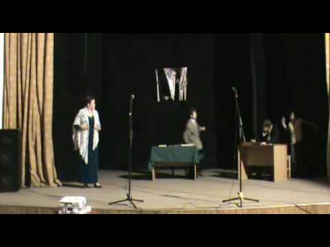 спектакль Юбилей, часть 2, театр-студия Живое слово