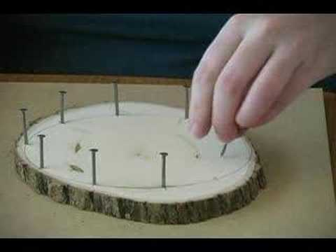 Woodworking Multiplication Math Art Board Waldorf by www.Earthschooling.com