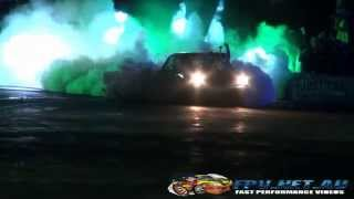 MELTEM BLOWN COROLLA AT BURNOUTS UNLEASHED 2014