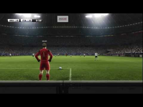 SEMIFINAL EURO 2012 : Alemania vs Italia  All goals Highlights Germany  vs Italy  pes 2012 xbox 360