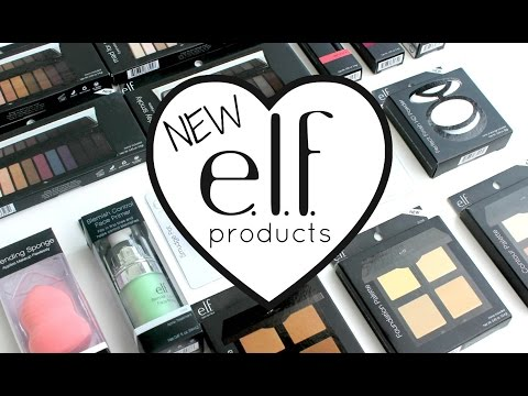 NEW ELF PRODUCTS 2015! Haul and Swatches