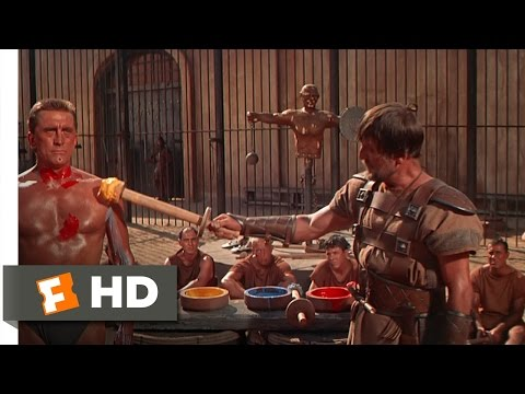 Spartacus (3 9) Movie Clip - Gladiator Training (1960) Hd video