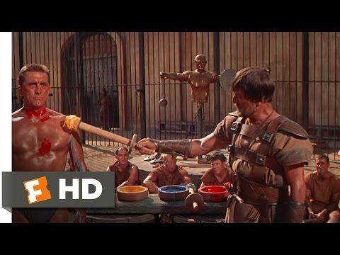 Spartacus (3 9) Movie Clip - Gladiator Training (1960) Hd video