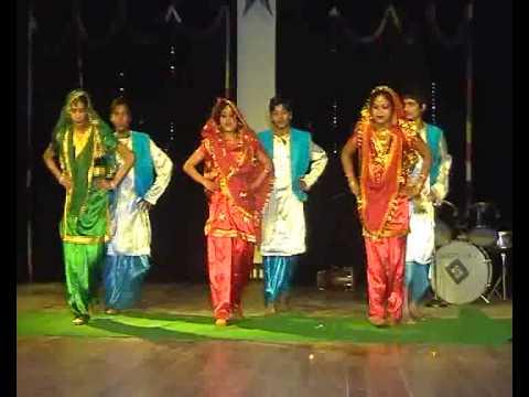 Christmas Dance --2010 ---punjabi Bhangrha --   W. H.s Ministries (church Of Jesus Christ ) video