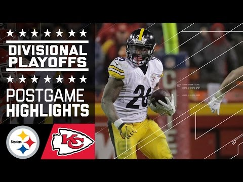 Steelers Vs Chiefs Nfl Divisional Game Highlights