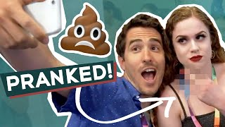 Surprise Pooping Prank with Blake Grigsby at VidCon