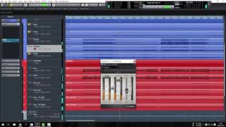 Mixing With Cubase 8 - The Amity Affliction - I Bring The Weather With Me