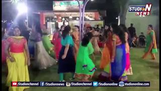 Dandiya and Bathukamma Celebrations Grandly Held At Hyderabad Boat Club