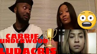 "Download Lagu Carrie Underwood ft. Ludacris ""The Champion"" REACTION VIDEO Gratis STAFABAND"