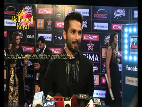 Shahid Kapoor At The Red Carpet of 5th Edition of GIMA Awards