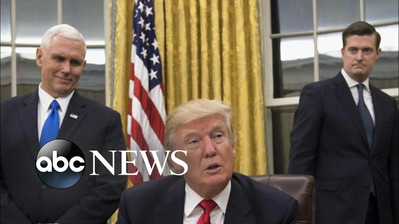 Trump defending former White House staff secretary Rob Porter