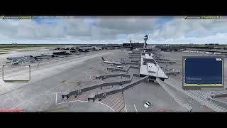 P3D v4 KDFW to KORD PMDG 737-800