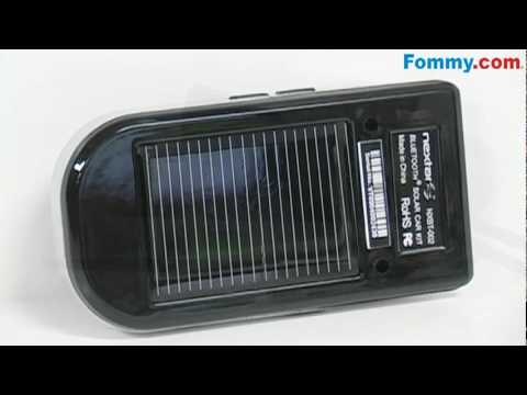 Solar Charging Bluetooth Speaker