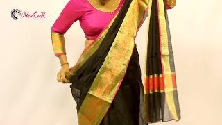 Learn To Get Perfect Saree Pleats | How To Wear Saree?