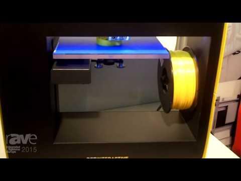 ISE 2015: Nautilus Features BEE INTERACTIVE SCHOOL 3D Printer