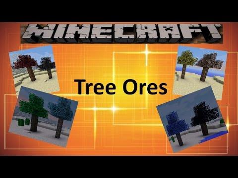 Minecraft: TREE ORES MOD