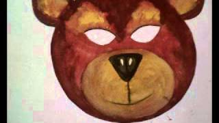 Masque D'ours  Fabriquer | Masque De Carnaval D'ours En Papier
