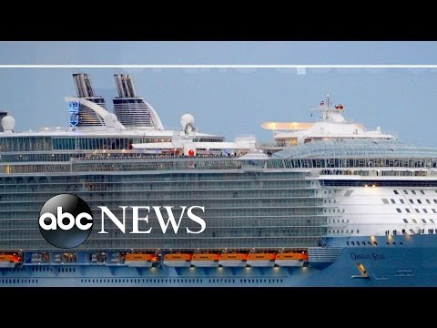 High Seas Search After Passenger Goes Overboard on Cruise Ship