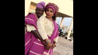 Olaniyi Afonja Sanyeri Got married To Actress Laide Bakare,See Them Dancing On Their Wedding Day