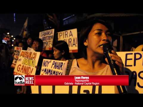 NEWSREEL: Barangays in Tondo simultaneously turned-off lights to protest Meralco price hike