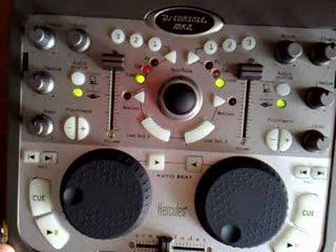 GALERA DJ HERCULES DJ CONSOLE MK2 RMX AMBULANCE