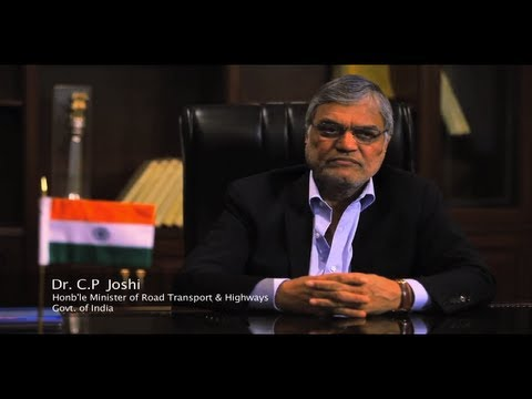 Google+ Hangout with CP Joshi, Minister for Road Transport & Highways, India