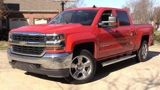 2016 Chevrolet Silverado LT Crew Cab Start Up, Road Test, and In Depth Review