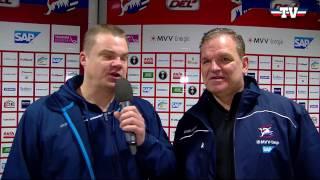 Coaches Corner - Adler Mannheim vs. Düsseldorfer EG