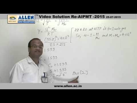 AIPMT 2015 Re-Exam Physics Solution – Q. No. 161, 163, 165 (Paper Code-A)