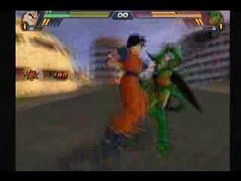 Dragon Ball Z Tenkaichi 3   Future Gohan Vs Cell video