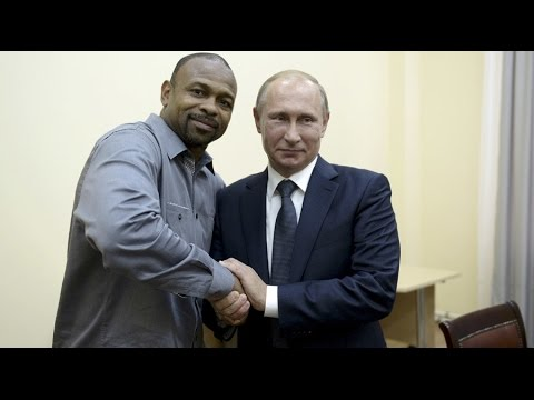 Boxer Roy Jones Jr. asks Putin for Russian citizenship, Vlad says OK