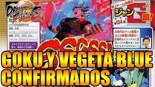 MODO HISTORIA CONFIRMADO GOKU BLUE KAIOKEN Y VEGETA BLUE Dragon Ball FighterZ