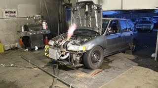 INSANE! 1000+hp Civic Wagon!