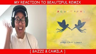 Download Lagu My Reaction To Beautiful Remix ~ Bazzi & Camila Cabello Gratis STAFABAND