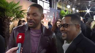 Will Smith and Martin Lawrence at Bad Boys for Life Berlin Premiere
