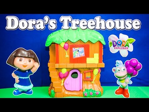 Dora The Explorer Nickelodeon Dora The Explorer Adventure Treehouse A Dora Video Toy video