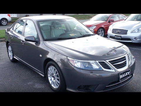 2008 Saab 9-3 2.0T Walkaround, Start up, Tour and Overview