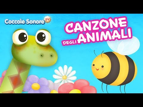 The animals song -  Italian Songs for children by Coccole Sonore