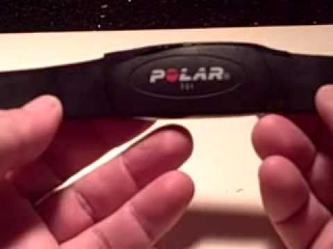 Polar chest strap battery removal and replacement