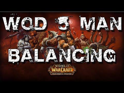 WoD 5 Man Balancing - Your Tank has Left the Group