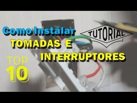 49 COMO INSTALAR TOMADAS INTERRUPTORES E LÂMPADAS .
