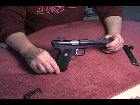 Disassembly and Reassembly of Ruger Mark III 22