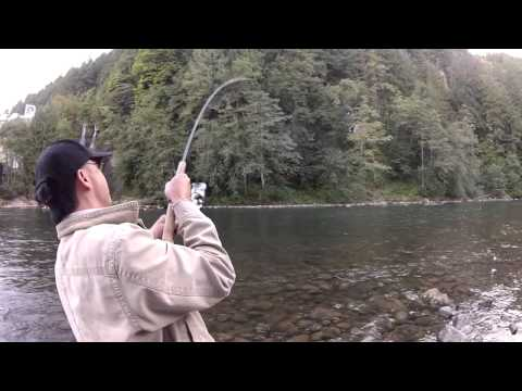 GoPro Oregon fishing: steelhead