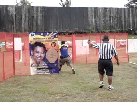 rechie carino -GLOCK 17  OCT.1.  2011 mayor jun s. binay invitational shootfest  #1